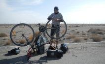Магжан Сагимбаев первый казахстанец, совершивший одиночное кругосветное путешествие, один из победителей проекта 100 новых лиц Казахстана, менеджер проектов Казахского географического общества