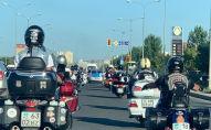 Встреча с участниками международного мотопробега Единая история, организованного мотоклубом Чёрные ножи