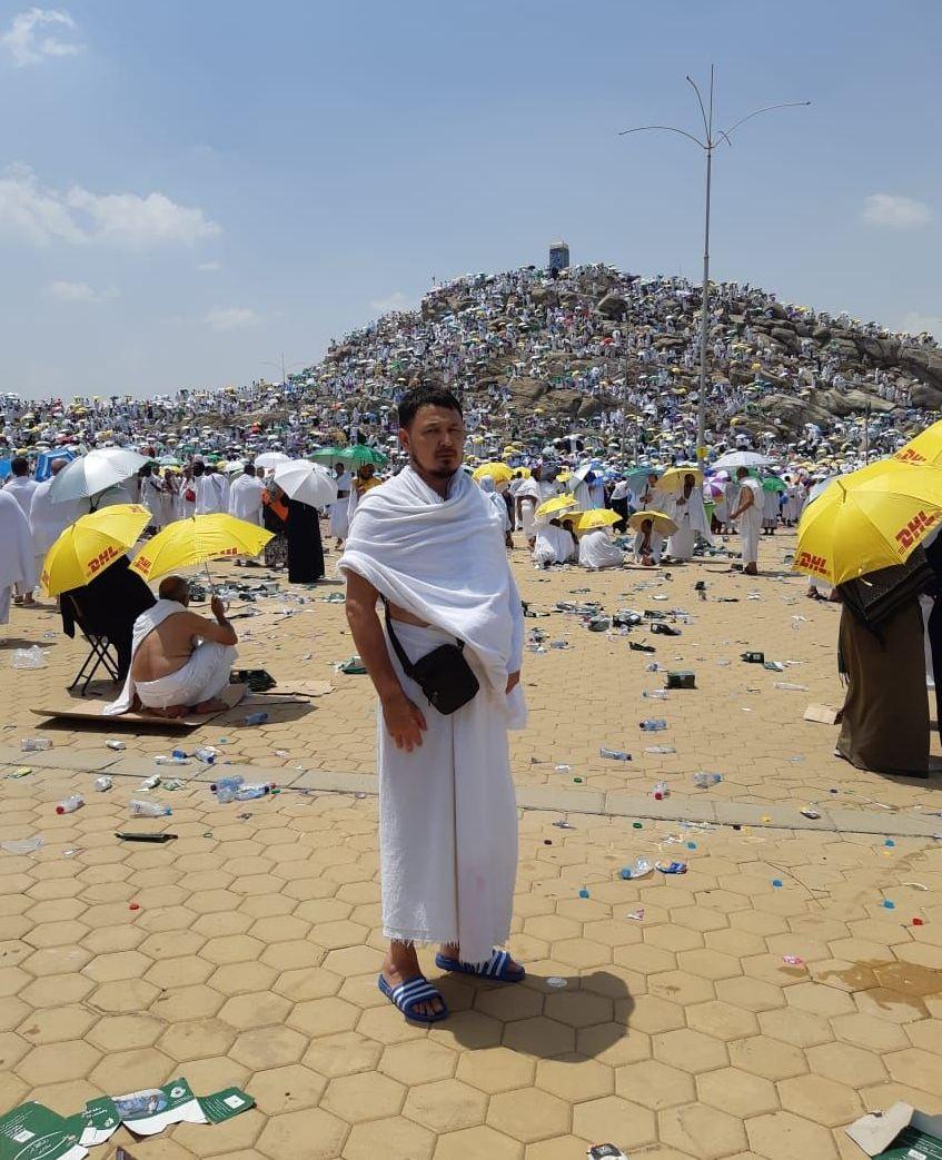 На горе Арафат