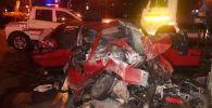 Смертельное дорожно-транспортное происшествие случилось в Алматы