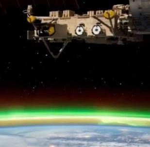Стыковка c МКС Союза МС-14 с роботом Федором на борту