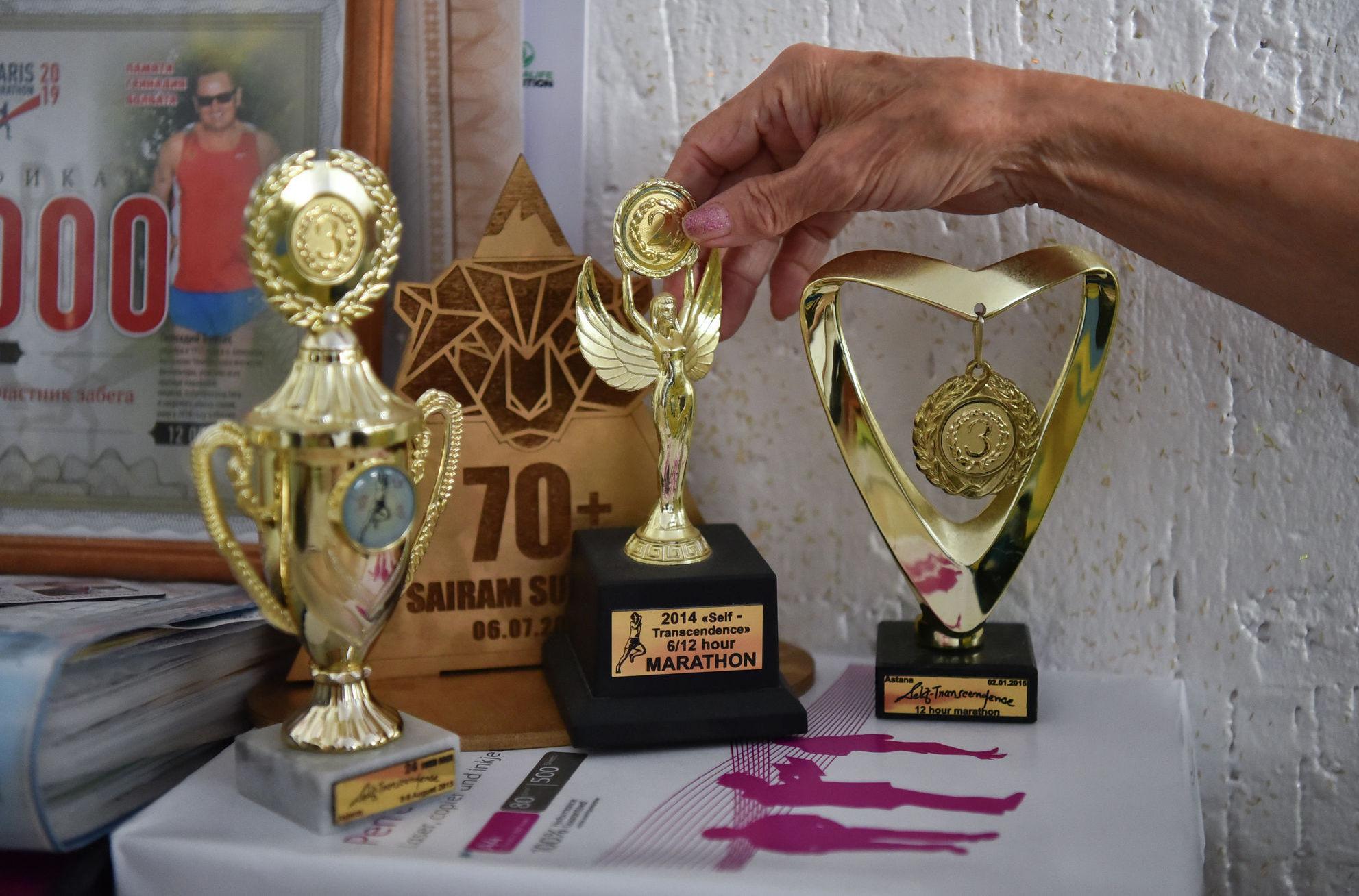 Награды Амегульсин Мусылмановой за участие в различных соревнованиях