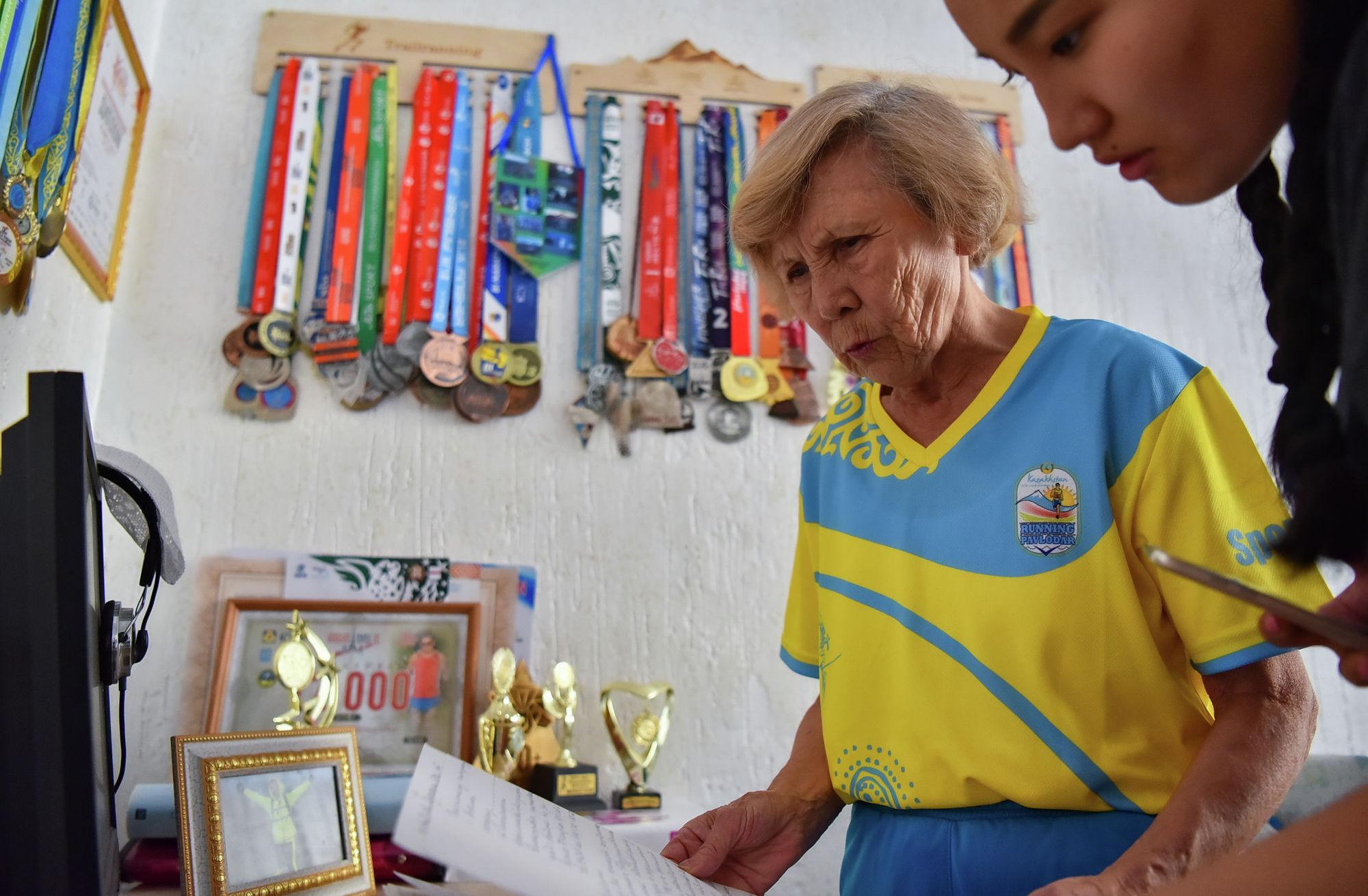Бегунья не получает пенсию с января 2019 года и написала обращения в различные инстанции