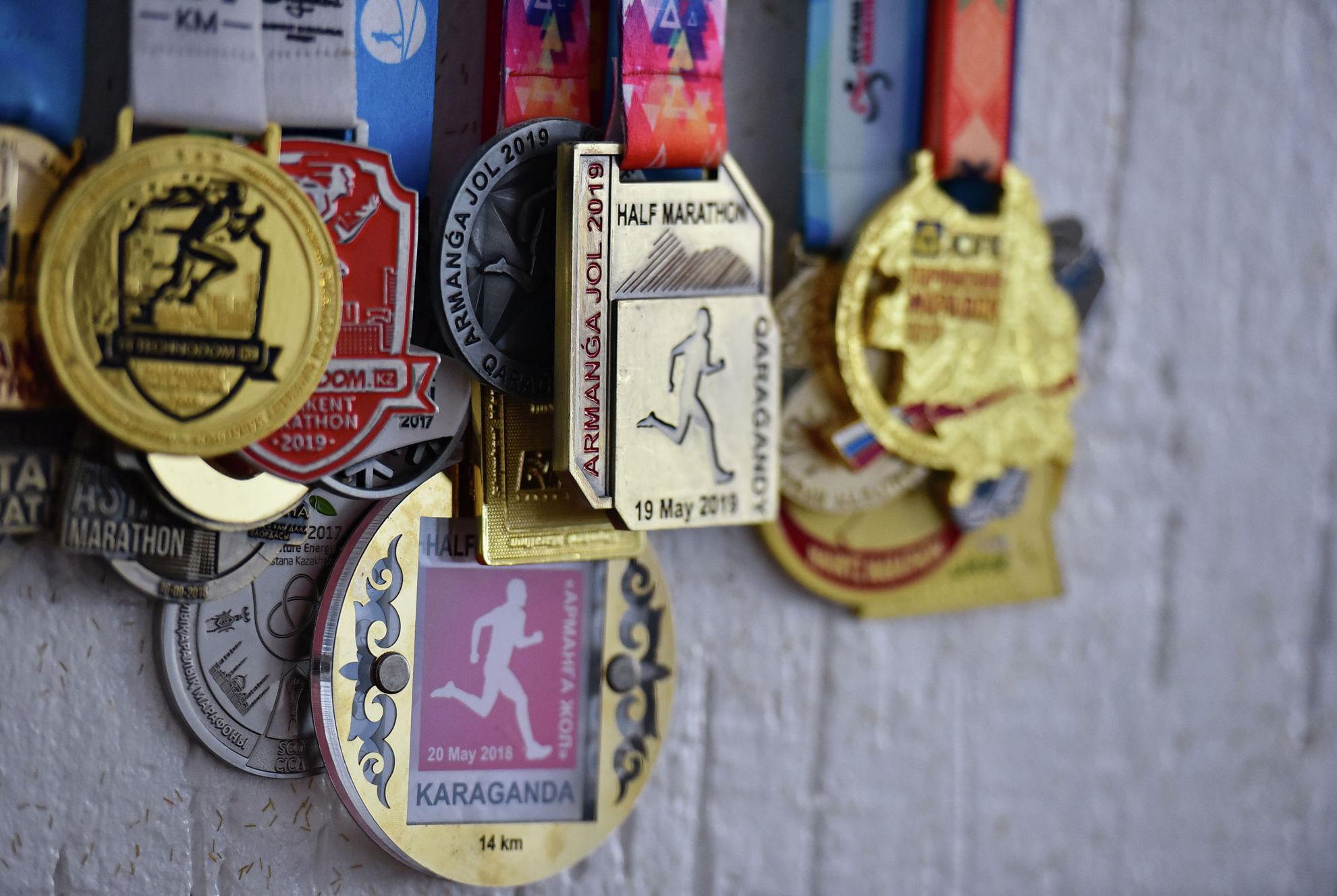 Медали за результаты