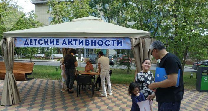 На фестивале нашлось место и мастер-классам для детей