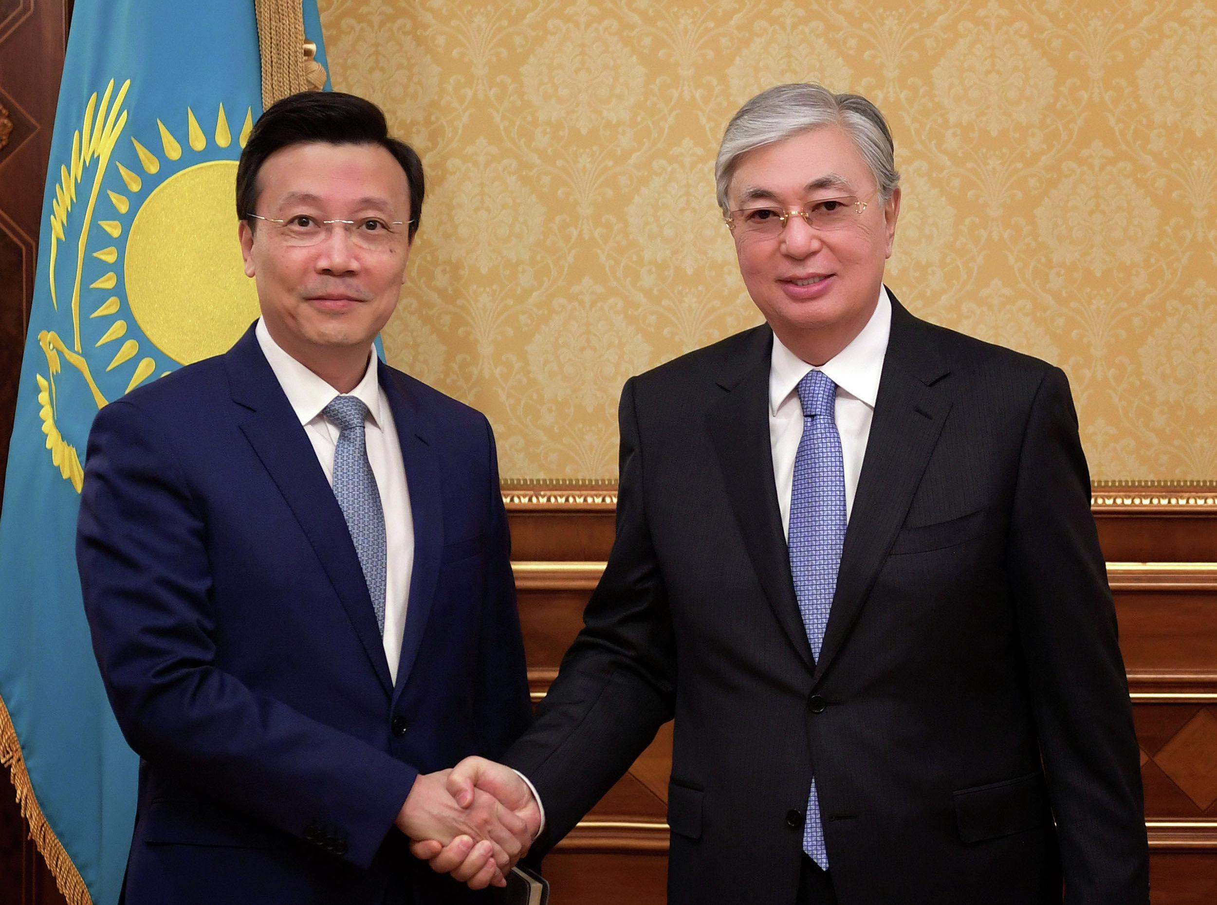 Президент Касым-Жомарт Токаев принял посла Китайской Народной Республики Чжан Сяо