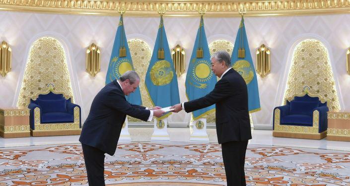 Президент Казахстана Касым-Жомарт Токаев принял верительные грамоты у послов десяти государств