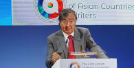 Олжас Сулейменов на первом форуме писателей стран Азии