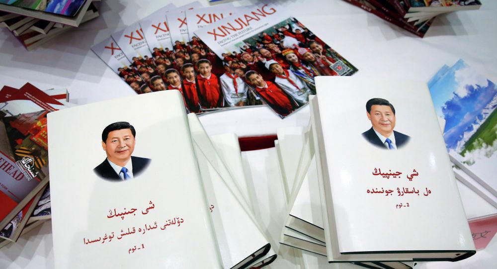 Копии книги Си Цзиньпина о Синьцзяне