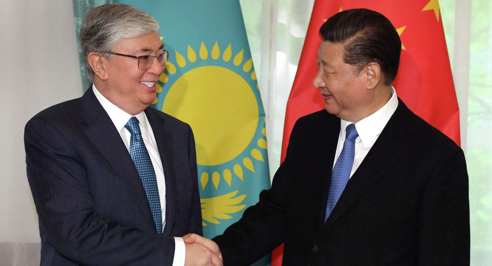 Президент Казахстана Касым-Жомарт Токаев встретился с Председателем КНР Си Цзиньпином