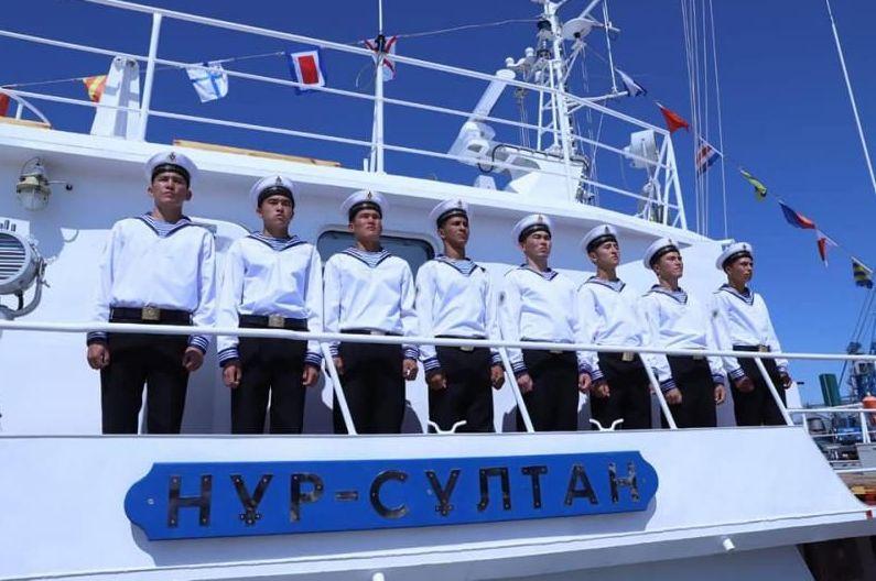 Военный корабль Нур-Султан