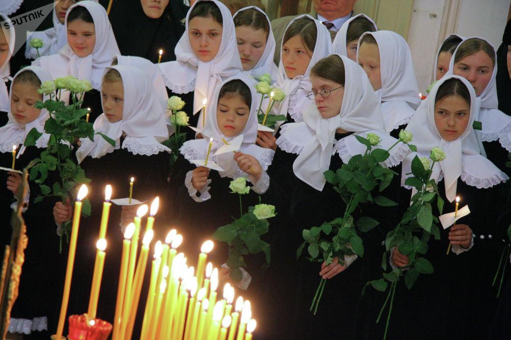Панихида памяти жертв теракта 11 сентября 2001 г. в московском храме