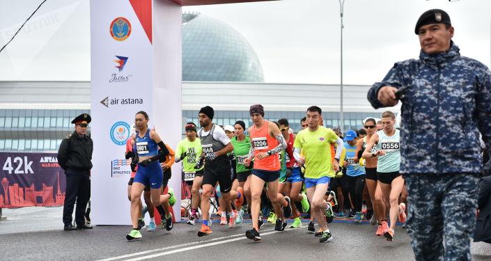 Легких километров пожелали участникам Аstana Marathon 2019