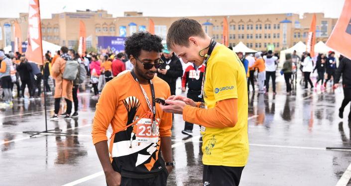 На Аstana Marathon есть место и решениям вопросов