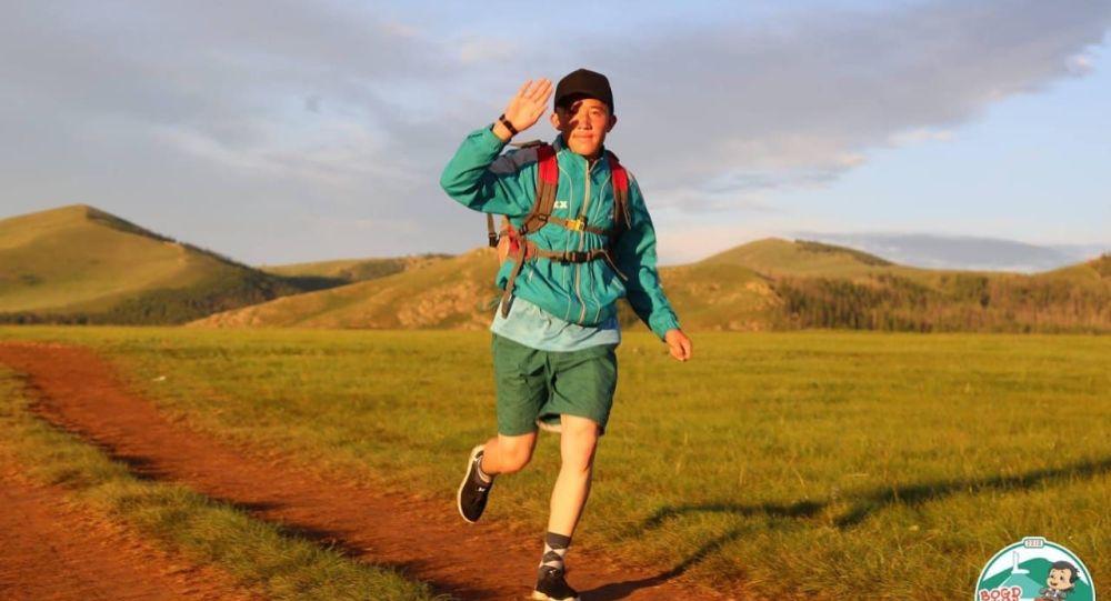 Моңғолияда тұратын қазақ марафоншысы Абылайхан Бахытнасыр
