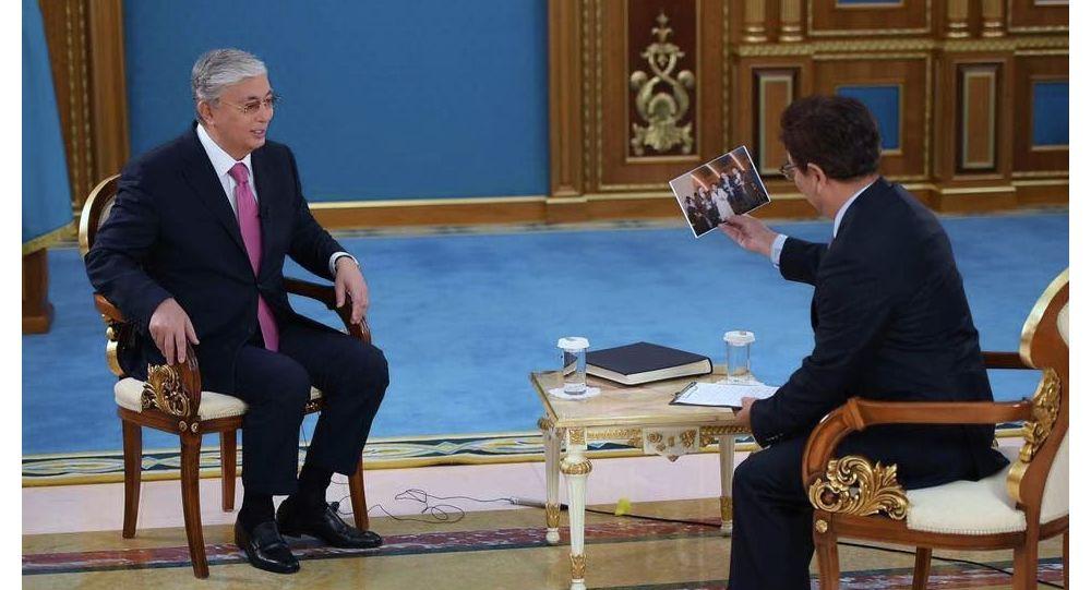 Қасым-Жомарт Тоқаев Қытайдың CCTV телеарнасына сұхбат берді