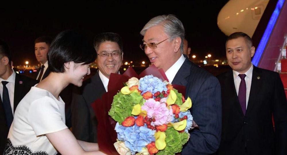 Президент Казахстана Касым-Жомарт Токаев прибыл в Китай