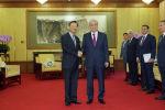 Ян Цзечи, член Политбюро Коммунистической партии Китая и президент Казахстана Касым-Жомарт Токаев