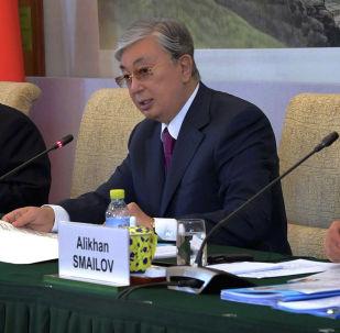 Касым-Жомарт Токаев встретился с представителями деловых кругов КНР
