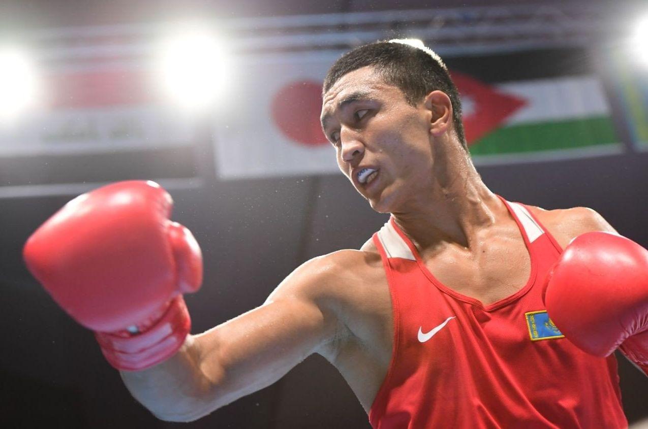 Казахстанский боксер Абильхан Аманкул