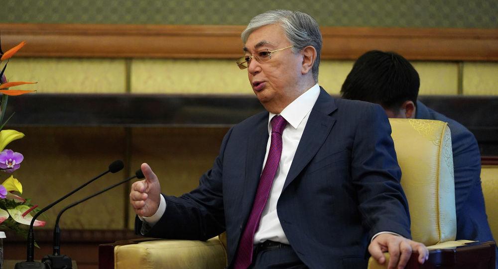 Президент Казахстана Касым-Жомарт Токаев в Пекине