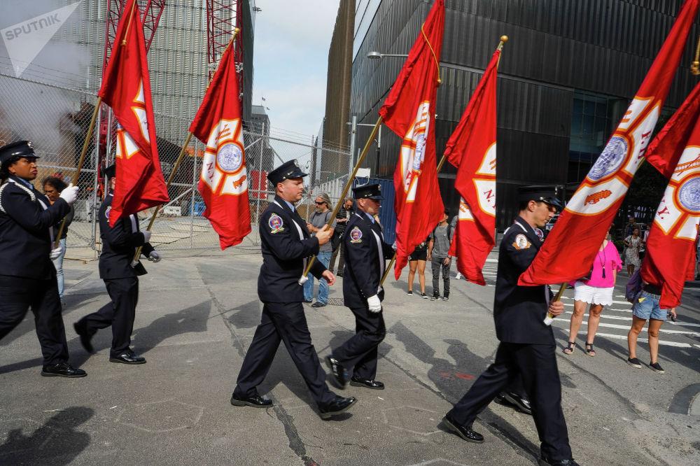 Памятные мероприятия по случаю годовщины терактов 11 сентября