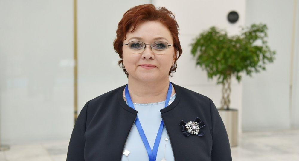 Глава Национальной лиги потребителей Казахстана Светлана Романовская