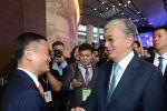 Встреча главы Казахстана с Джеком Ма