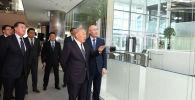 Қазақстанның тұңғыш президенті Астана халықаралық қаржы орталығында болды