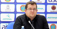 Старший медиа-офицер футбольного клуба Астана Дмитрий Нестеренко