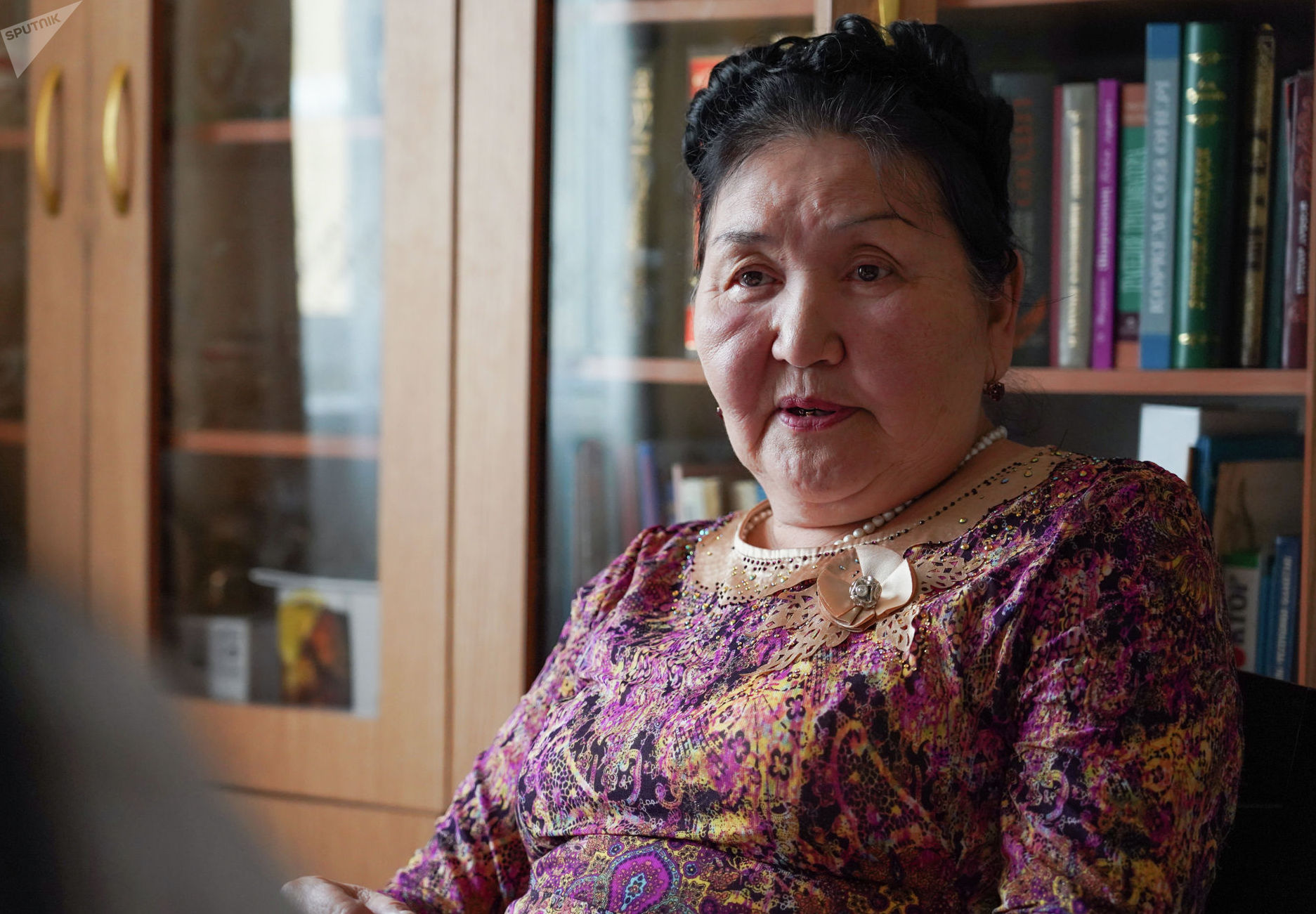 ليايليا بايماگامبەتوۆا - پراپراۆنۋچكا كازاحسكوگو پوەتا ي مىسليتەليا ابايا كۋنانباەۆا