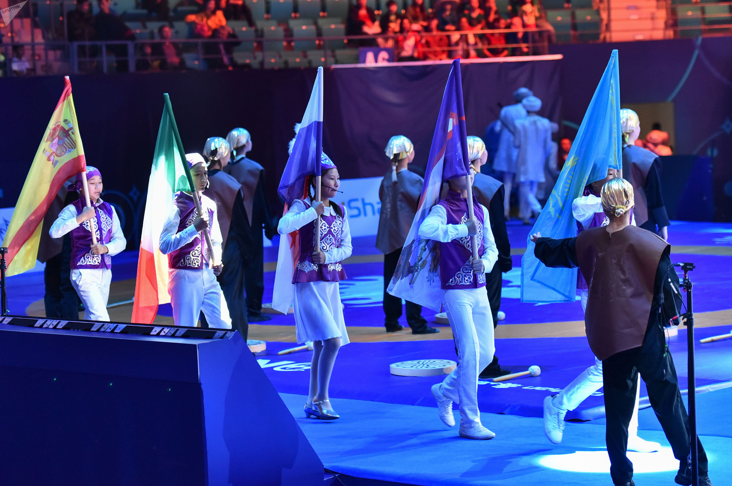 Чемпионат мира по борьбе. Церемония открытия
