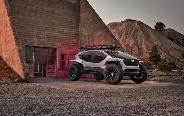 Внедорожник будущего Audi AI:Trail