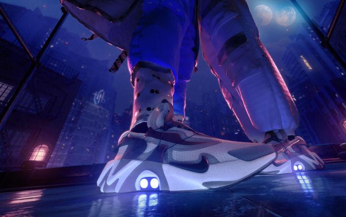 Nike представила кроссовки Adapt Huarache, которые можно зашнуровать с помощью Siri