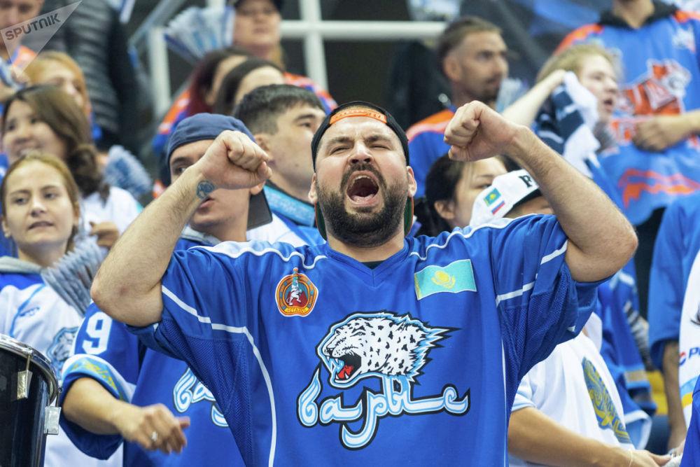 Победный настрой казахстанской команды болельщики приняли с воодушевлением