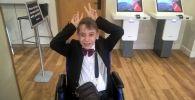 Юный ученый с ДЦП Исаак Мустопуло занялся армрестлингом