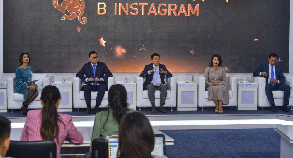 Самый крупный медиа-холдинг Казахстана Хабар на пресс-конференции, посвященной кастингу