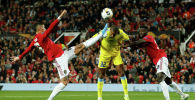 Рэнджело Джанга, Маркос Рохо и Аксель Туанзебе. Манчестер Юнайтед - Астана матчы