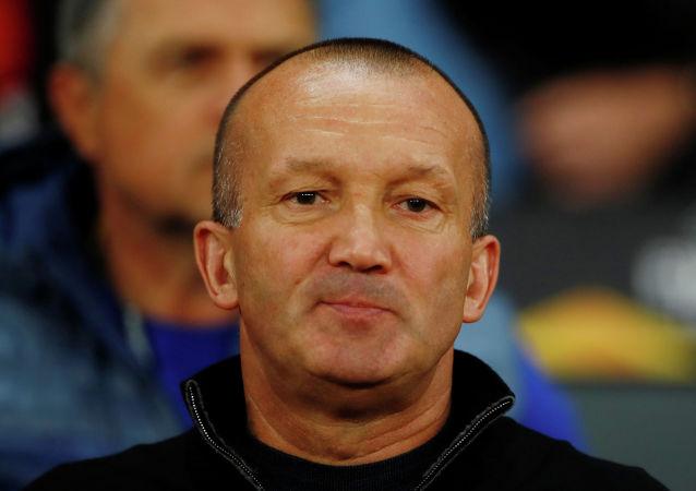 Тренер Астаны Роман Григорчук перед матчем Манчестер Юнайтед-Астана
