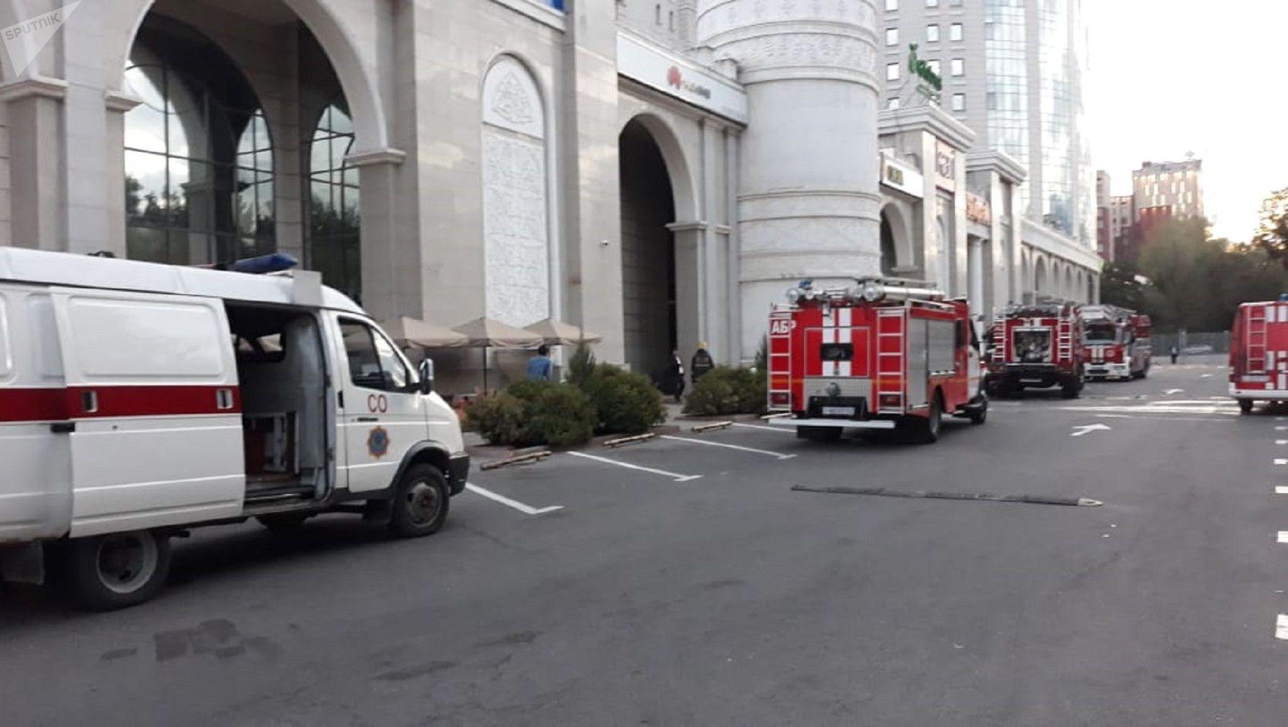 Пожарные прибыли по повышенному номеру вызова