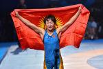 Спортсменка из Кыргызстана Айсулуу Тыныбекова завоевала золото на ЧМ в Нур-Султане