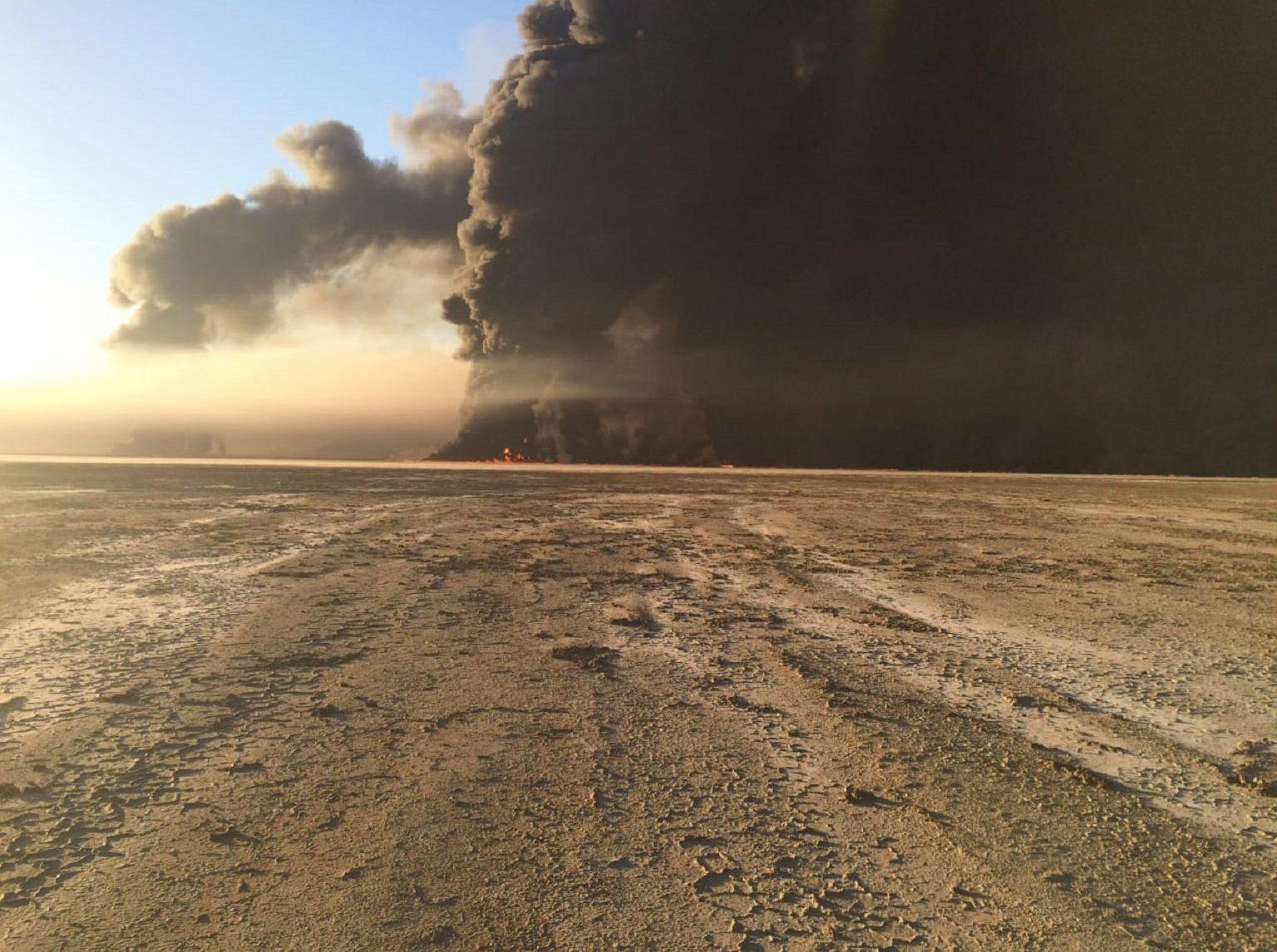 Пожар, произошедший в Жанаозене в 2015 году