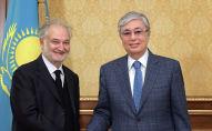Касым-Жомарт Токаев принял известного французского политика, президента ассоциации Attali and Associеs Жака Аттали