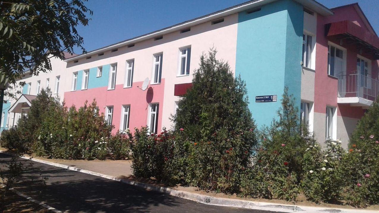 Детский сад Алтын Тумар после капитального ремонта