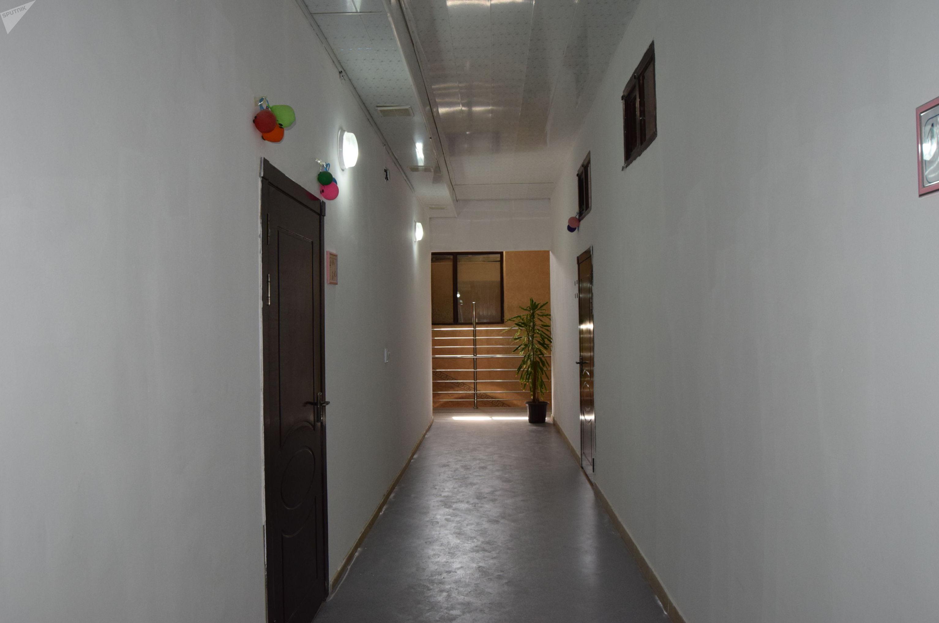 Школа в здании бани
