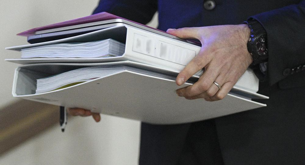Папки с документами, архивное фото