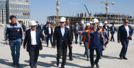 Премьер-министр Казахстана Аскар Мамин с рабочей поездкой в  Шымкенте и Туркестане