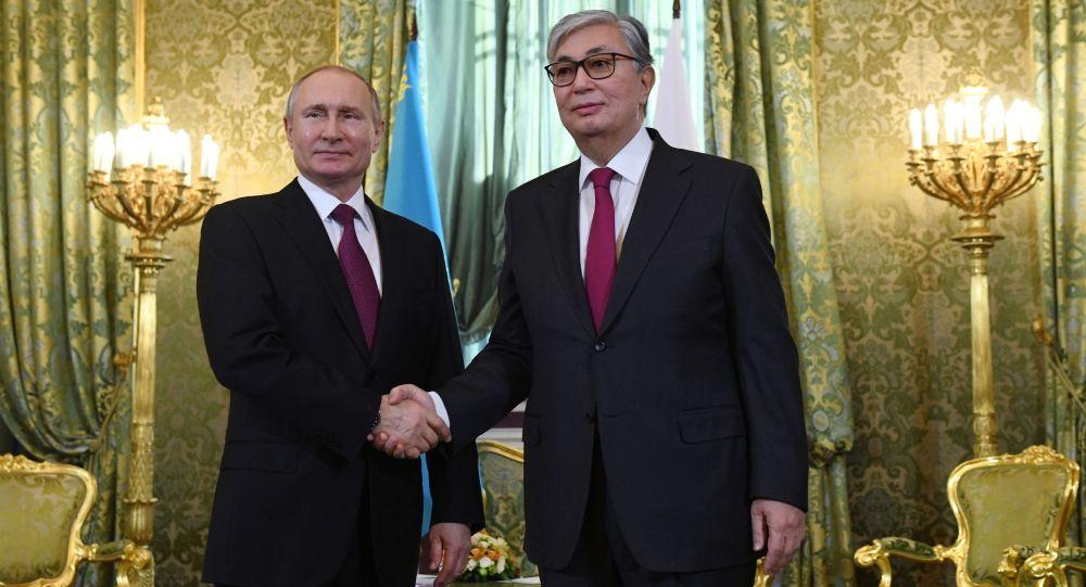 Тоқаев пен Путин