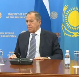 Пресс-конференция Сергея Лаврова и Мухтара Тлеуберди
