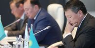 Тимур Құлыбаев Қазақстанның бокс федерациясының конференциясында